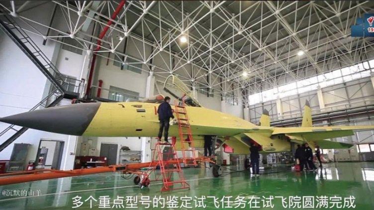 مشروع المقاتله  Shenyang J-11D الصينيه لايزال فعالا  D5Dx7T4VUAcQ_km