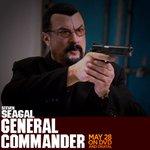 Image for the Tweet beginning: Steven's new Film General Commander