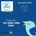 Image for the Tweet beginning: QA&TEST EMBEDDED:  Sign up