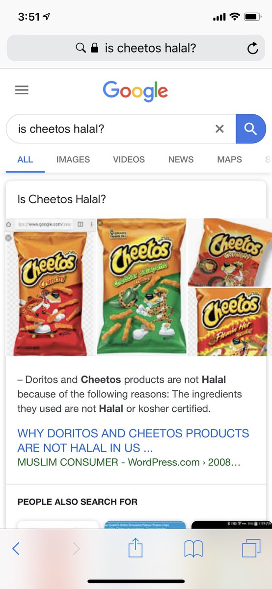 At what age you first knew cheetos is not halal?