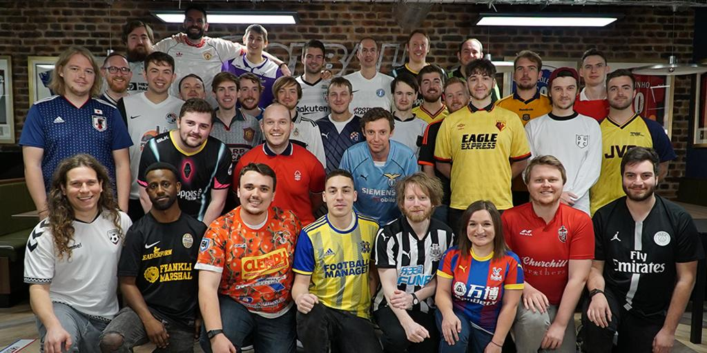 It's #FootballShirtFriday 👕  Here's a selection of the shirts on show in the @SI_games office. Which is your favourite? 😍