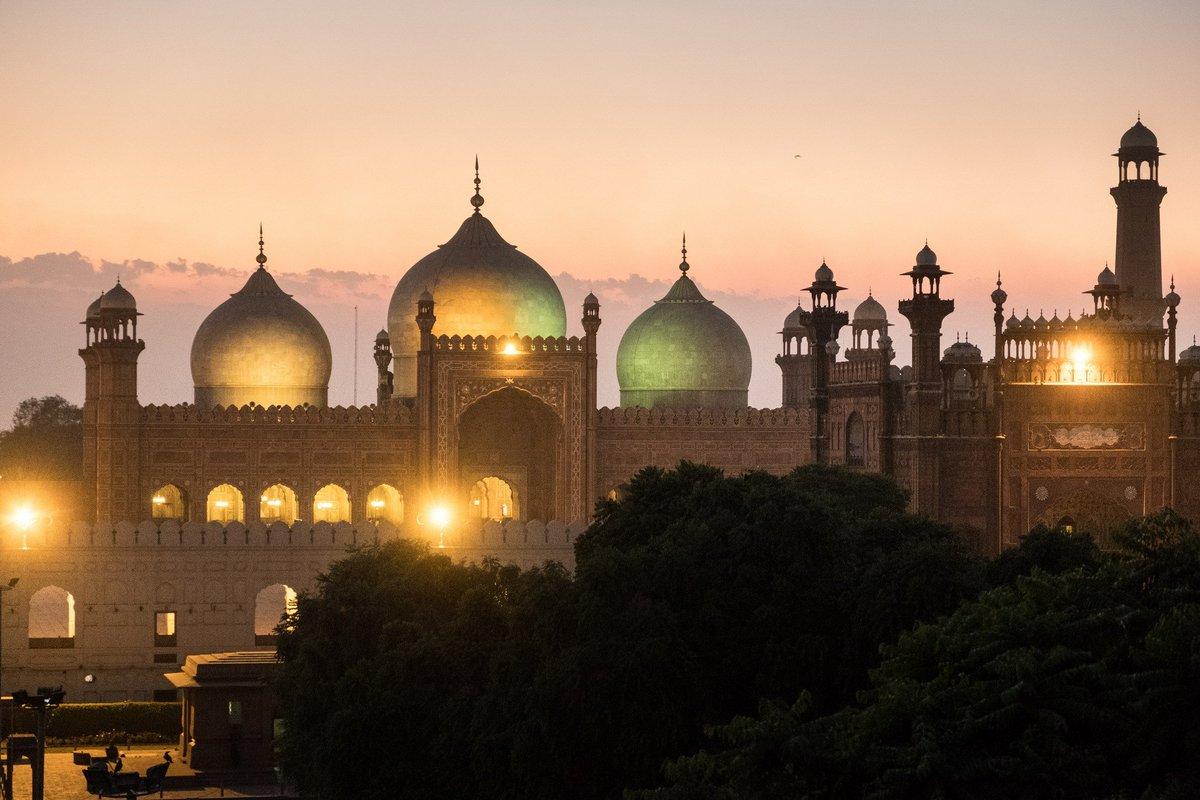 Lahore -Badshahi Mosque .Pakistan