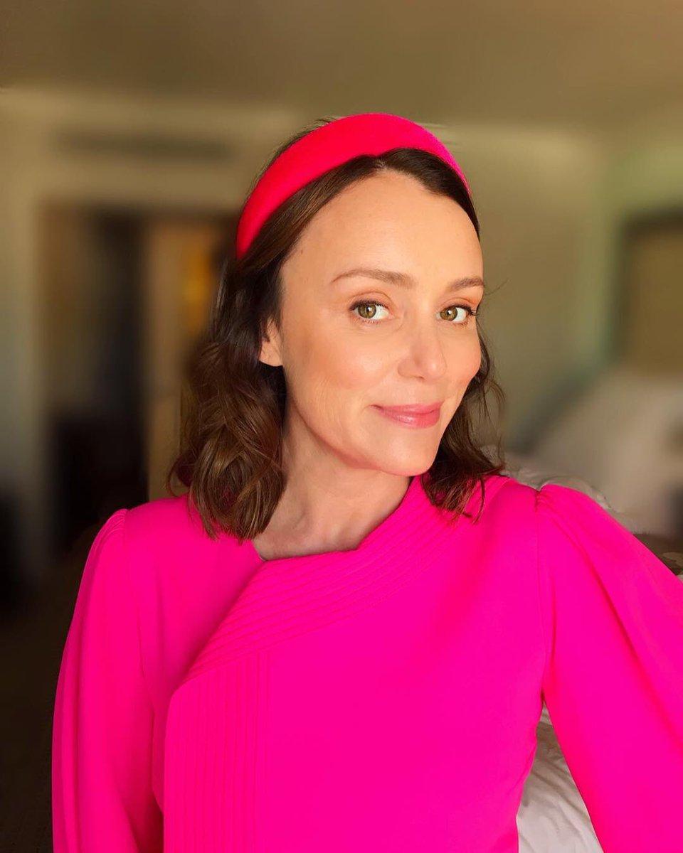 lady in pink! 💖 #keeleyhawes
