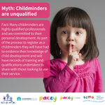 Image for the Tweet beginning: Do you think childminders are