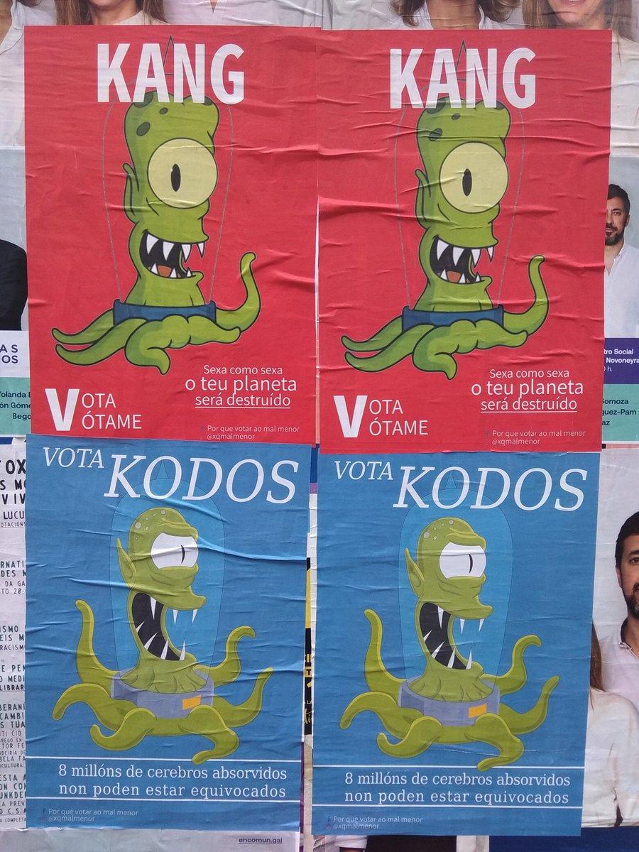 Campaña electoral en Lugo