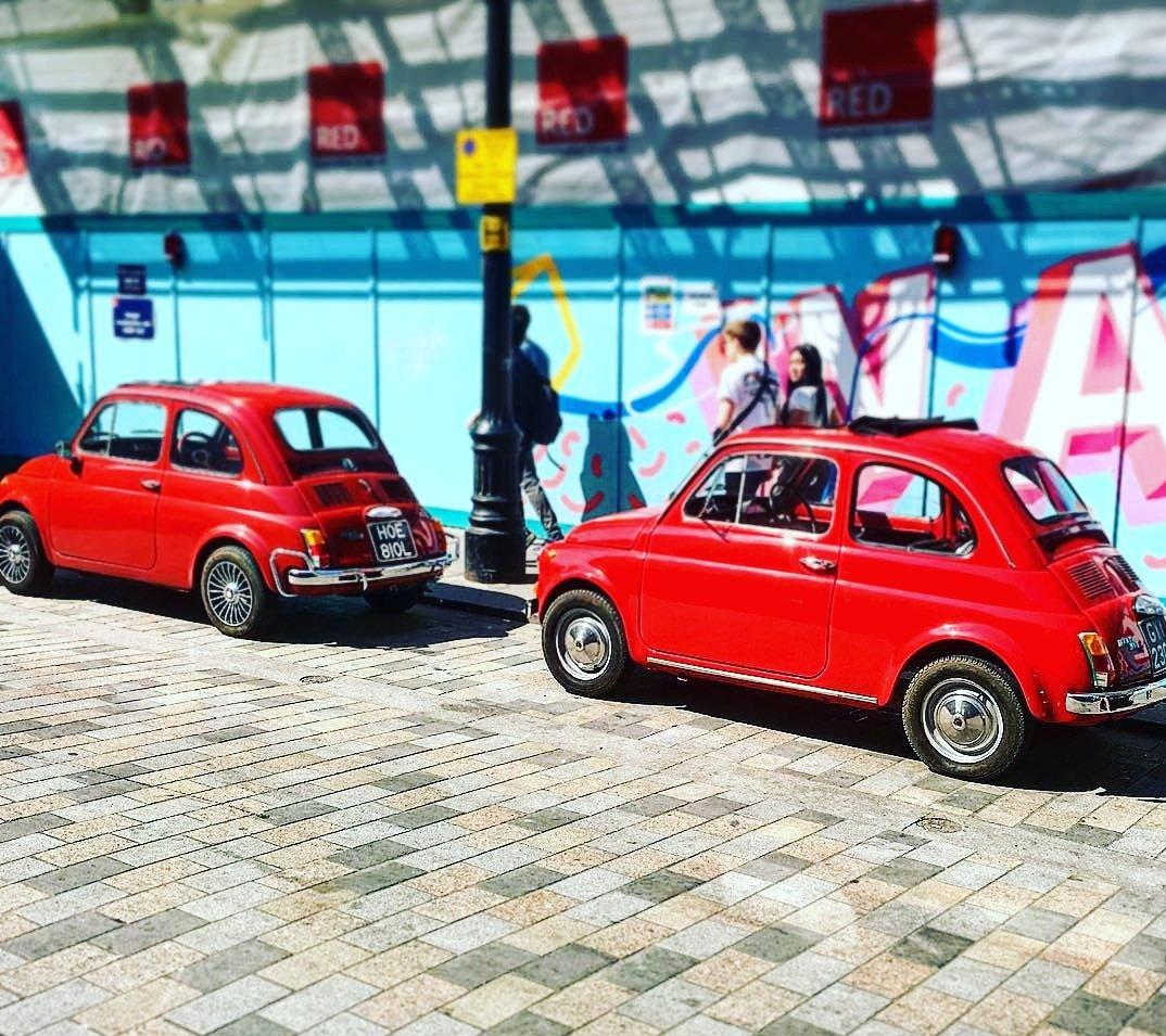 Fabulous Fiat 500s for Fiat Friday 😍  📸 @riffsister  #FiatFriday