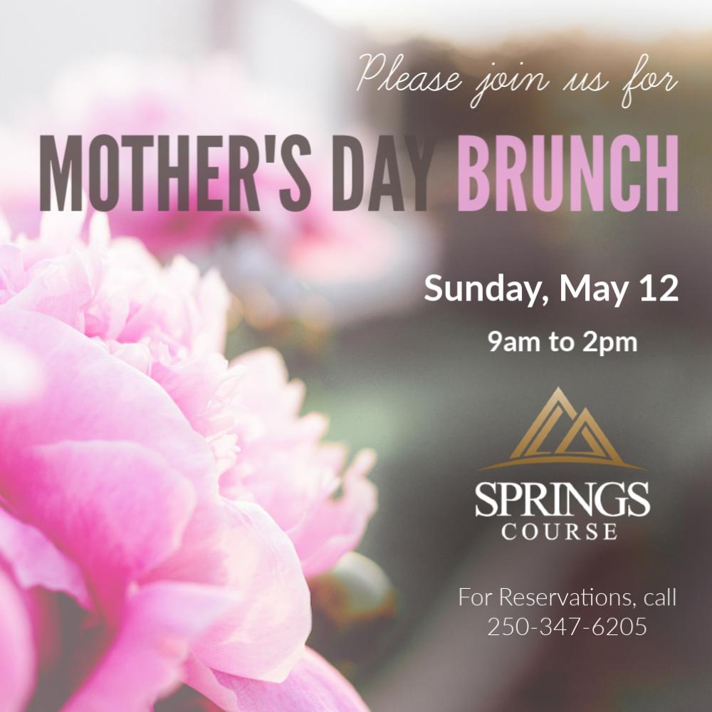 Join us on Sunday, May 12th for Mother's Day Brunch at the #SpringsCourse.  Adults: $24.95 (Mom's get 20% OFF) Youth (12-17): $14.95 Children (11 & Under): $9.95  Call 250-347-6205 for Reservations #RadiumGolf #ElevationsDining #MothersDay #Brunch #Radium https://t.co/AIK2DA5PFA