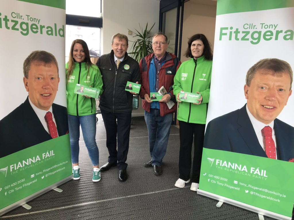 e30149cfbf Delighted to meet so many people today  BlackpoolCork for  fiannafailparty  canvass great that  martindorganff joined inpic.twitter.com swj6Dld0nt