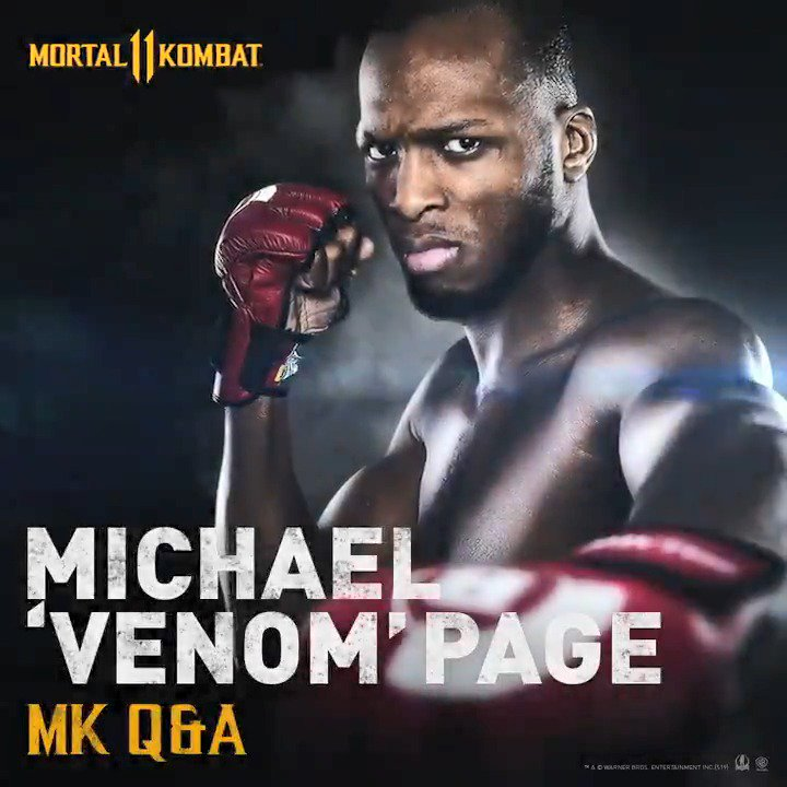 Do you think @MichaelPage247 is an #MK11 button basher or knows the pro moves? Check out his interview #GETOVERHERE