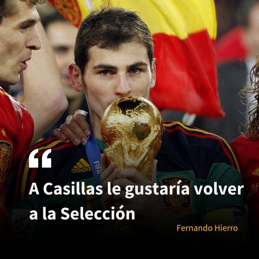 🤔 ¿Te gustaría volver a ver a Casillas en la Selección? 🔃 RT, Sí ❤ FAV, No