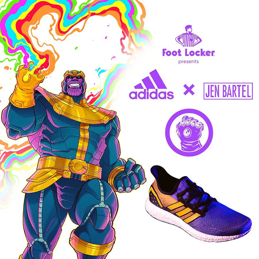 Captain Marvel Adidas x Jen Bartel AM4s