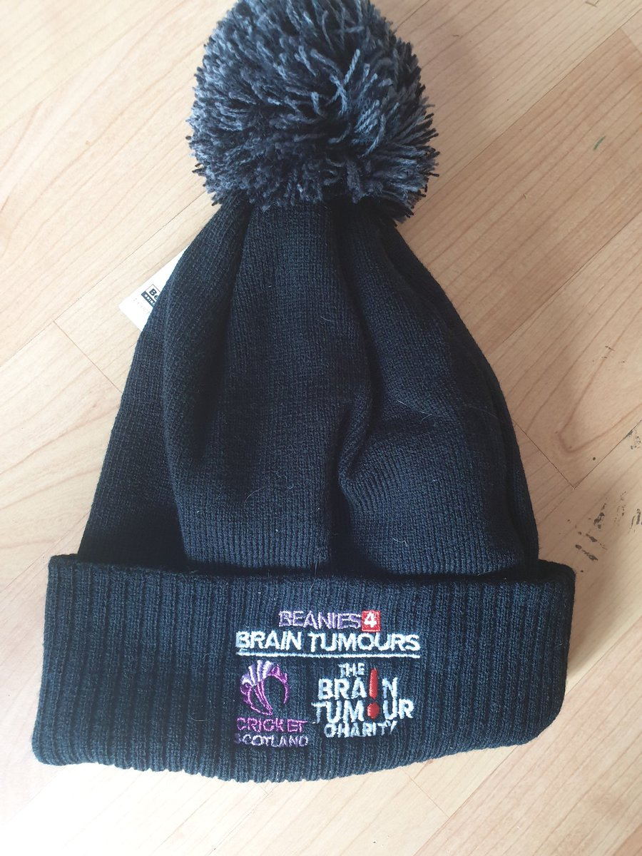 2ebfc9f62b3 Our new club beanies have now arrived as well!We are delighted to be  contributing to such a great cause as well in the  BrainTumourOrg Charity!