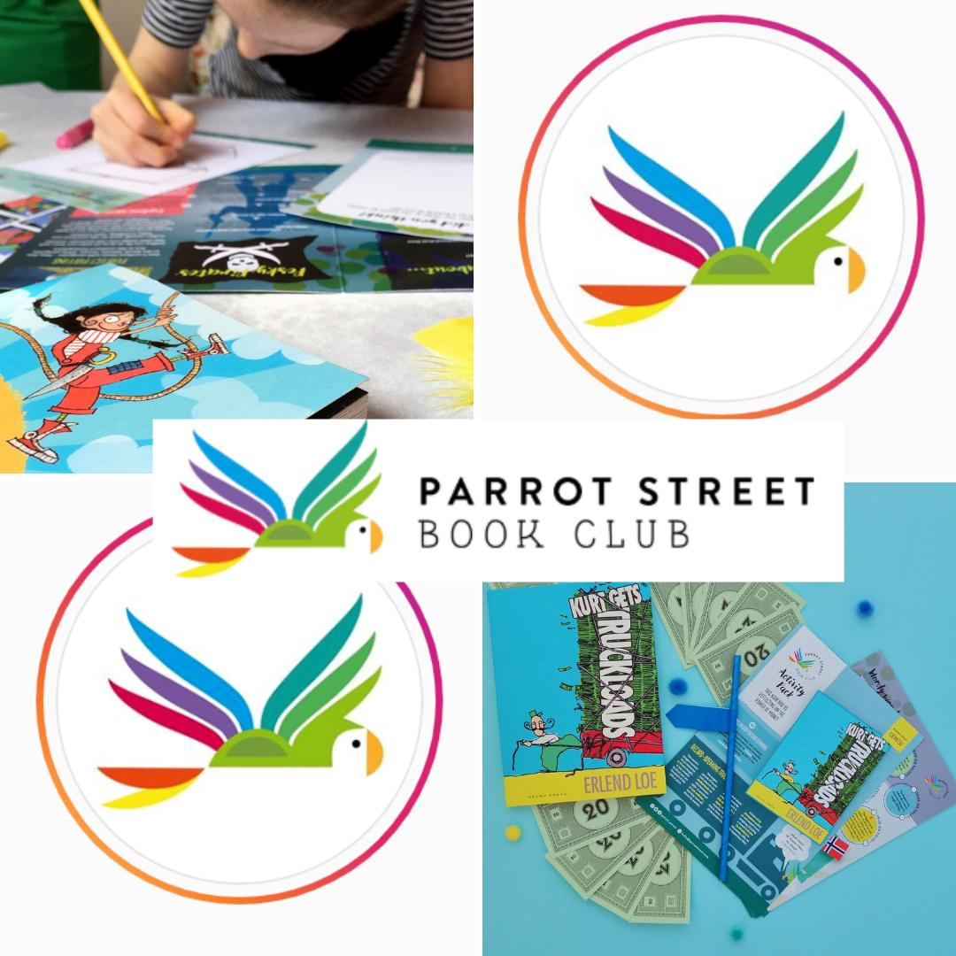 Were so lucky to have @parrot_street as part of our @kidslitfest family! Make sure you check them out beside Barnes Pond Saturday 11 & Sunday 12 May and support @beanstalkreads too! Whos joining us? barneskidslitfest.org