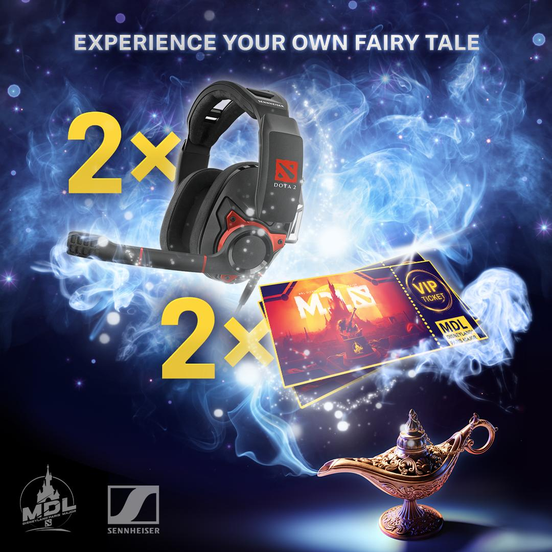 Together with @MarsMedia and @DisneylandParis, we're taking you on an adventure to the #MDLDisney Major paired with a set of GSP 600 #Dota2 edition headsets. Be your own genie and enter the raffle here: http://bit.ly/DisneyMajorRaffle …