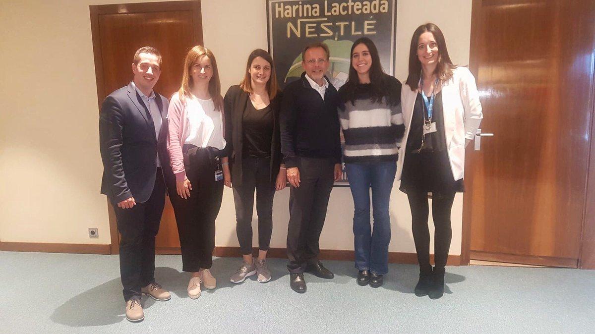 Hoy hemos conocido a Jacques Reber, Director General de @Nestle_es y nuestro mentor en el programa Corporate Impact Venturing. VEnvirotech y Nestlé España: hoy empieza una colaboración de futuro.