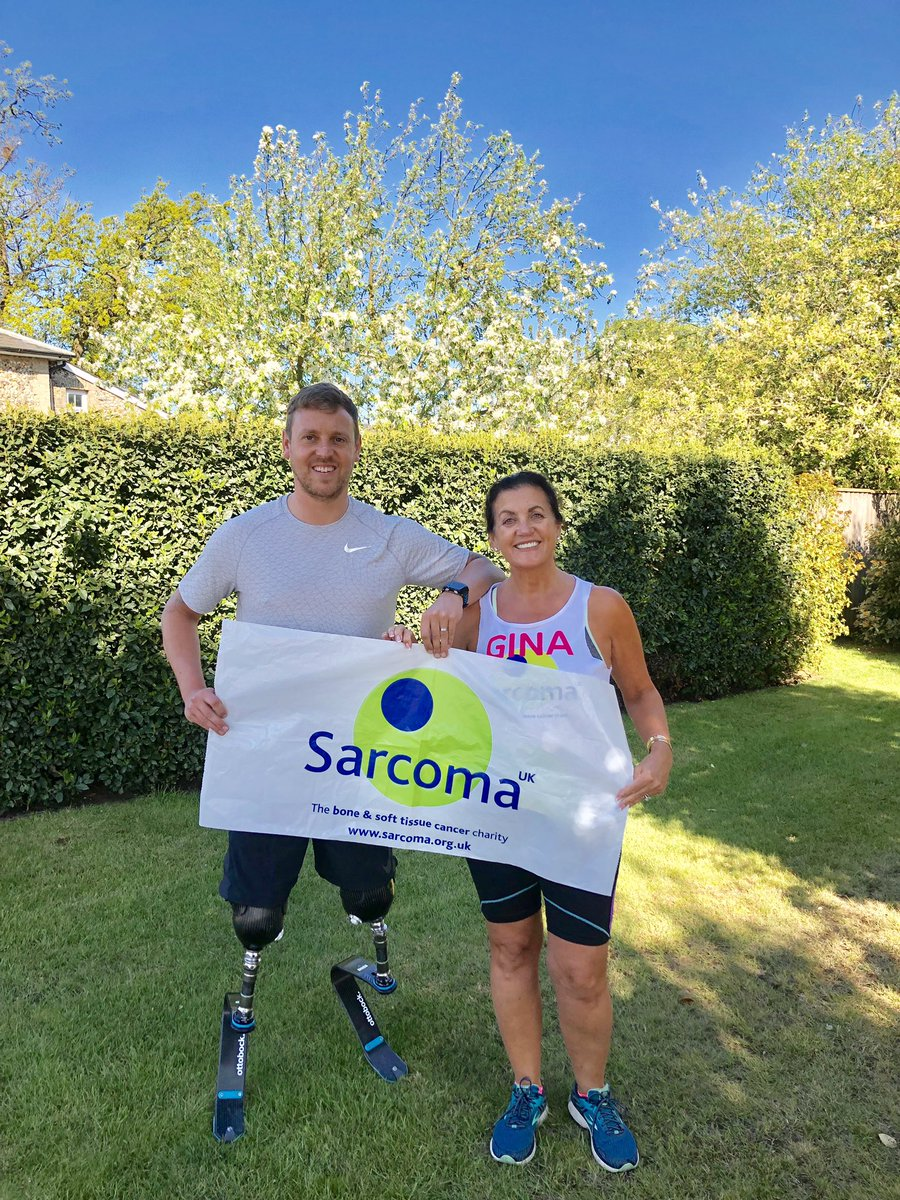 As you're aware Shaun #LondonMarathon is going to be the most emotional fundraiser I have ever done @Sarcoma_UK it marks the momentous milestone of my daughter Ali #5years clear and strong from the Sarcoma #Cancer she had. Going over the finish line is the beginning of a new era.