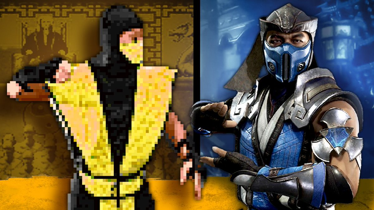 GREAT video by @IGN Mortal Kombat's 27 year battle between Scorpion and Sub-zero!
