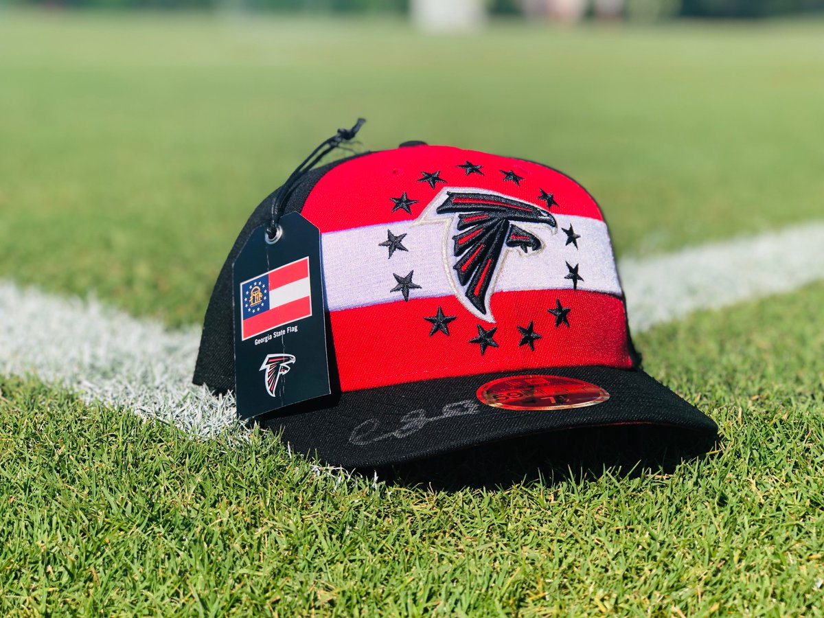 Chris Lindstrom is officially #InBrotherhood.   RT for your chance to win a signed @Big_Fish75 draft hat.