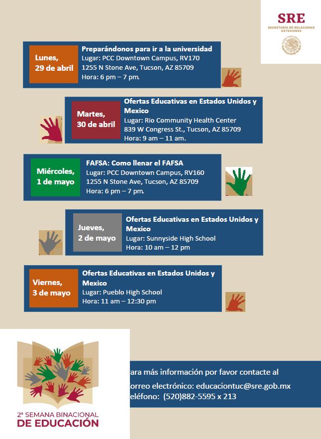 d54959a5ea5 ... en la cual puedes informarte sobre ofertas educativas a nivel superior  en E.U.A y México. Consulta nuestro calendario de actividades.