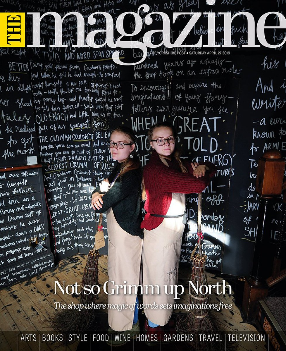 50048dda992 ... charity @GrimmAndCo helping to change young lives. Don't miss your copy  with The Yorkshire Post on sale all weekend. #buyapaperpic.twitter.com/ ...