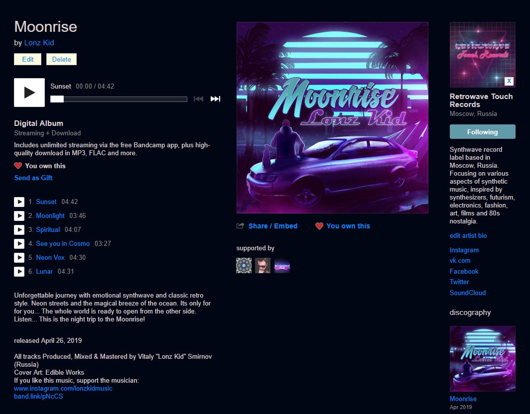 Retrowave Touch - @retrowavetouch Twitter Profile and