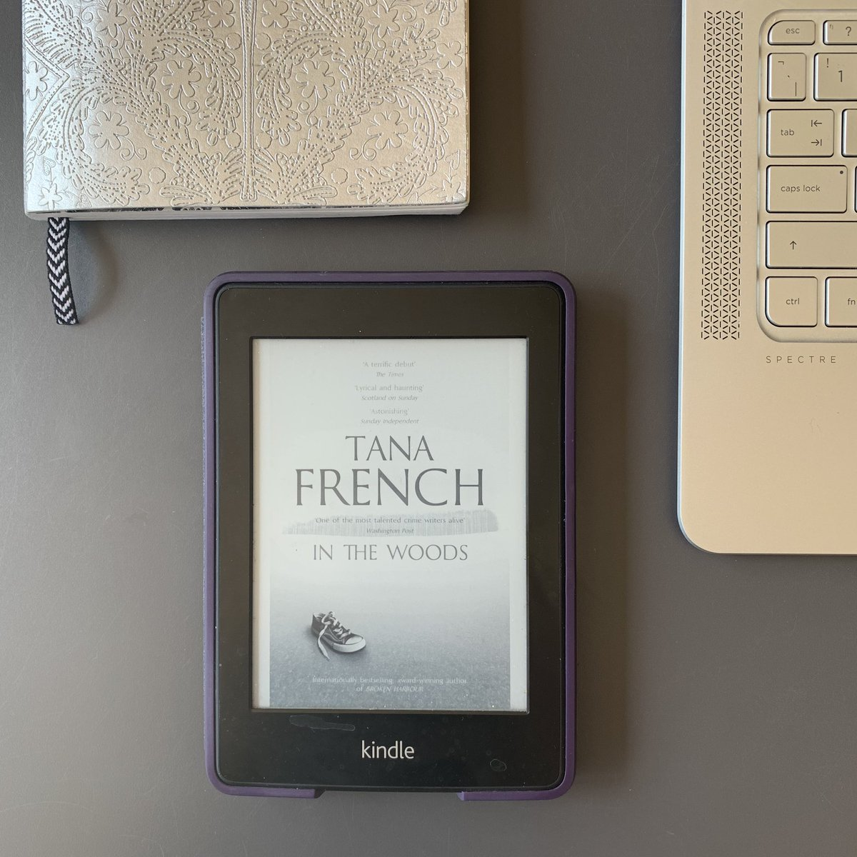 This week I read #IntheWoods by Tana French. It was pretty harrowing, quite glad it's over tbh #booklover