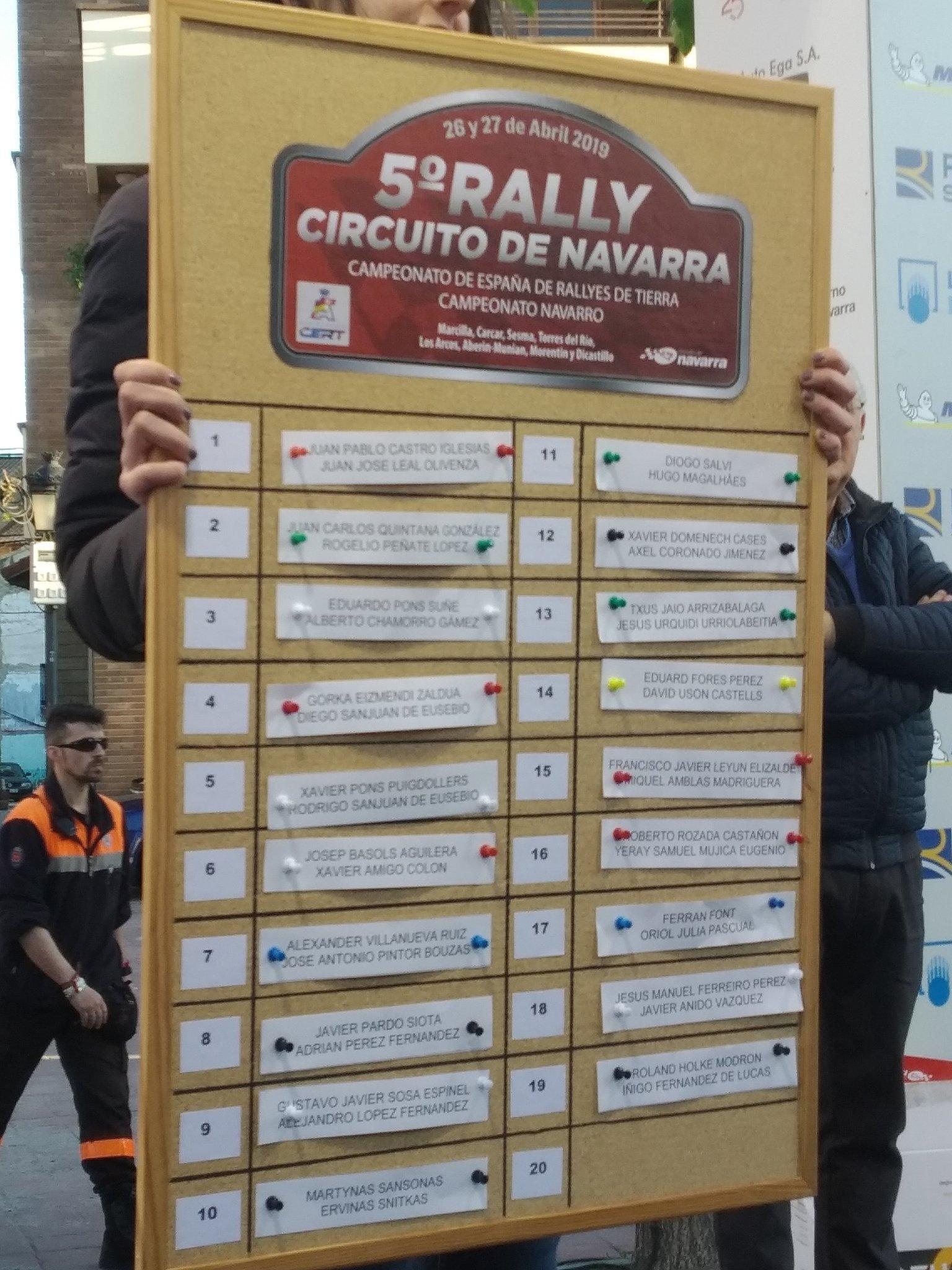 CERT: 5º Rallye de Tierra Circuito de Navarra [26-27 de Abril] D5GWTWAWkAUZjSj