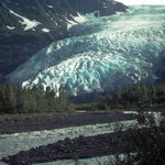 Image for the Tweet beginning: For all you glacier fans