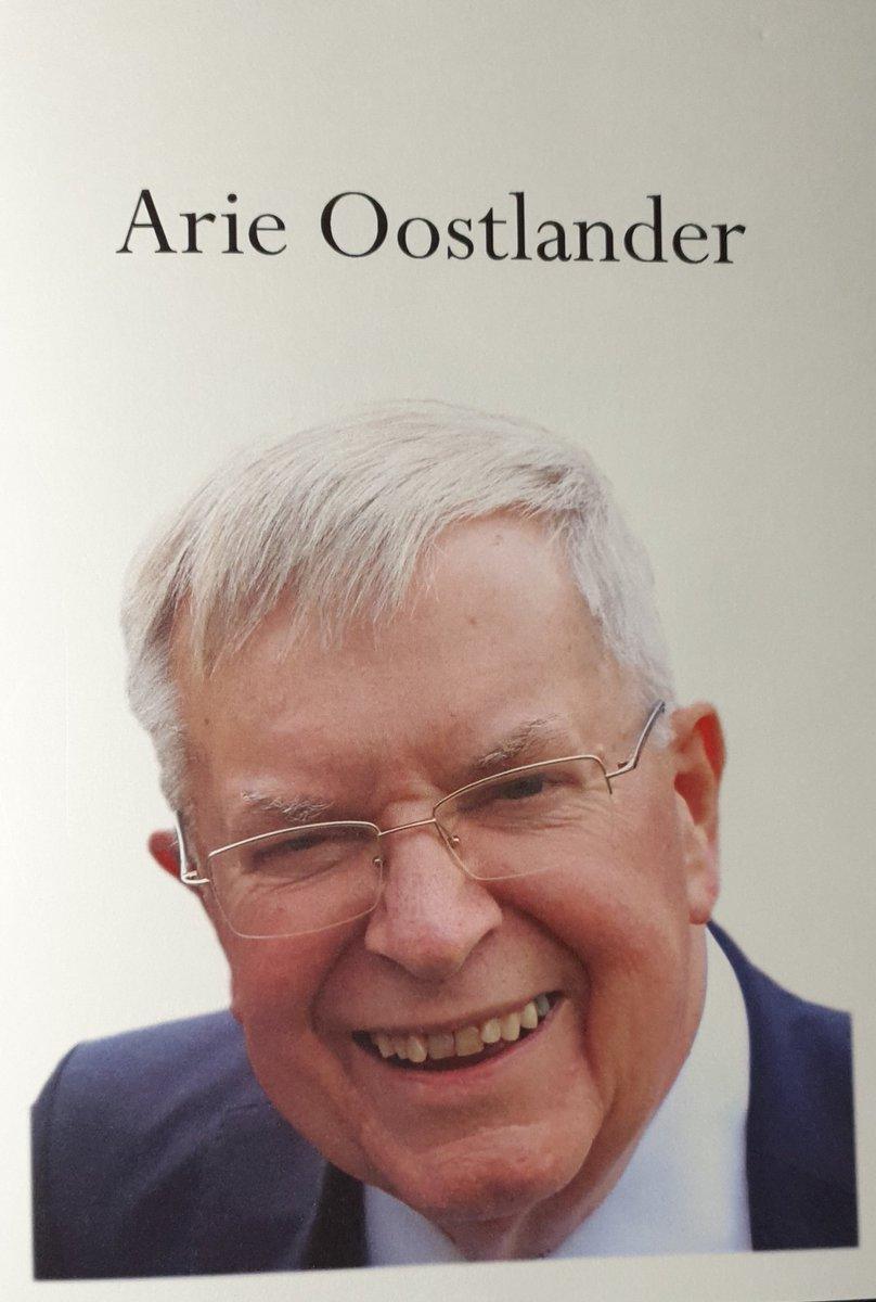 Vandaag afscheid van Arie Oostlander (1936-2019). Hij was directeur van het Wetenschappelijk Instituut voor het CDA en vervolgens lid van het Europees Parlement. Een bevlogen, authentiek en standvastig christen-democraat met enorme betekenis voor het gedachtengoed van het CDA.