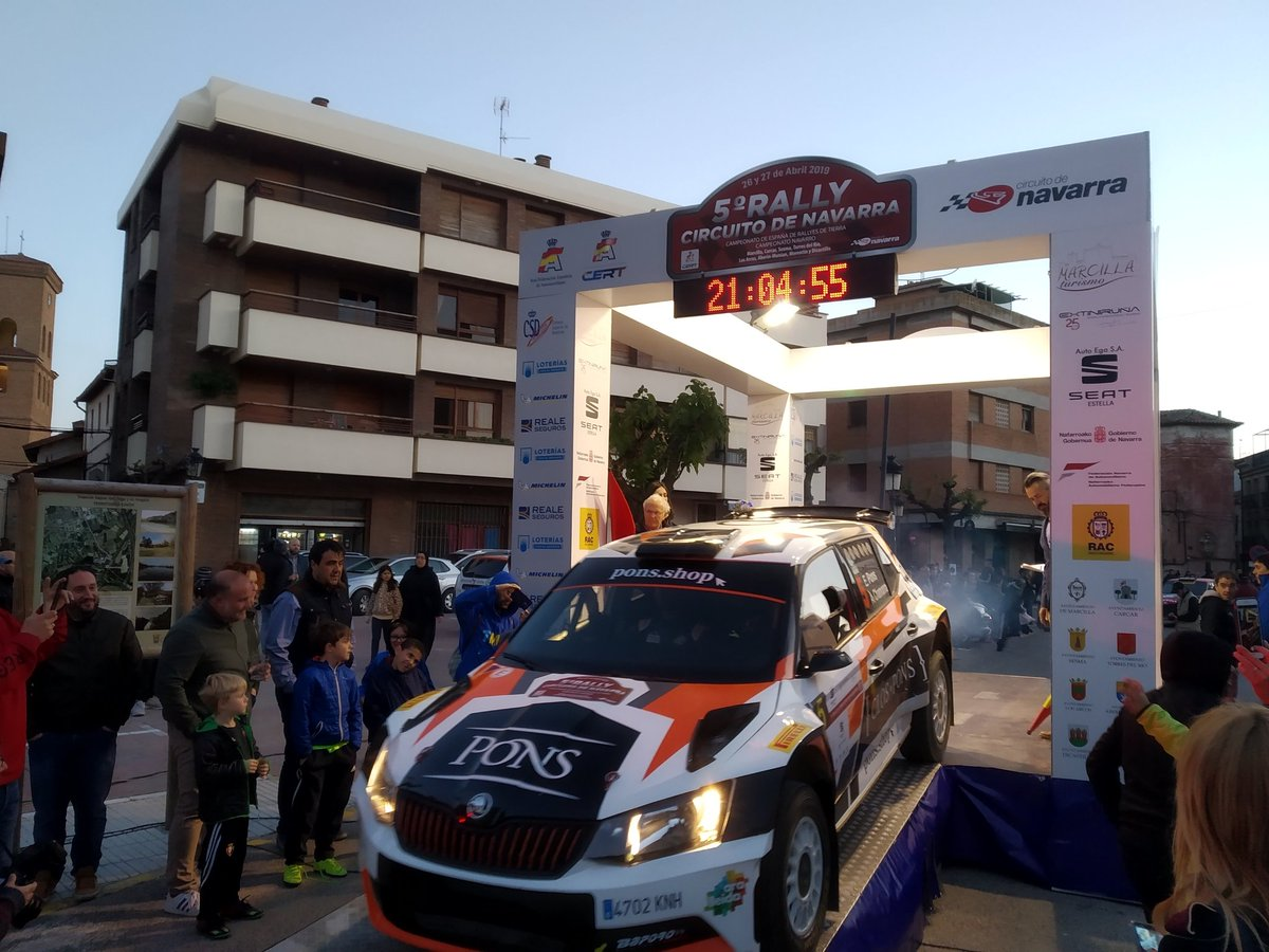 CERT: 5º Rallye de Tierra Circuito de Navarra [26-27 de Abril] D5GheeOXsAYa63U