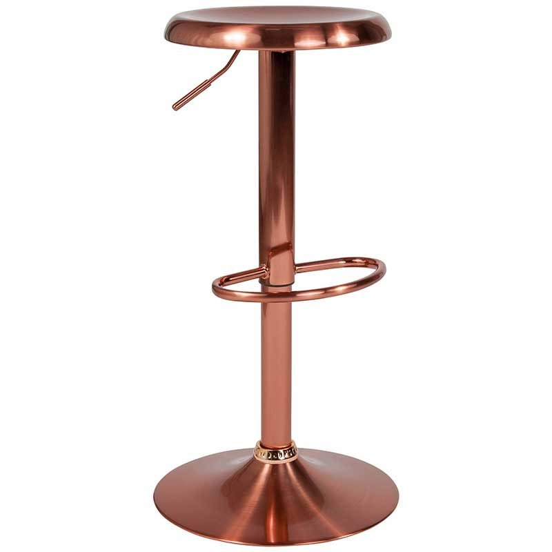 Everyone wants Rose Gold! This elegant metal bar stool with its adjustable height and comfortably dipped seat brings the wow factor to any space. Whole new zip-code for your work area. https://bayfurnishings.com/product/madrid-series-adjustable-height-retro-barstool-in-rose-gold-finish/… #bayfurnishings #furniture #BarstoolBestBar #BarstoolChamps #posh