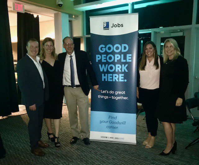 We Had A Great Time At Goodwillnnes Little Black Dress Event That Benefits Their Veterans Access Fund Provides Needed Financial Relief For