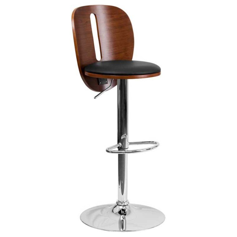 It's an eye magnet. Upgrade the traditional, but keep the classy look with this walnut counter to bar height adjustable easy to clean seat.  https://bayfurnishings.com/product/walnut-bentwood-adjustable-height-barstool-with-cutout-back-and-black-vinyl-seat-sd-2220-wal-gg/… #bayfurnishings #furniture #BarstoolBestBar #BarstoolChamps #posh #traditional #TRADITIONALBEST