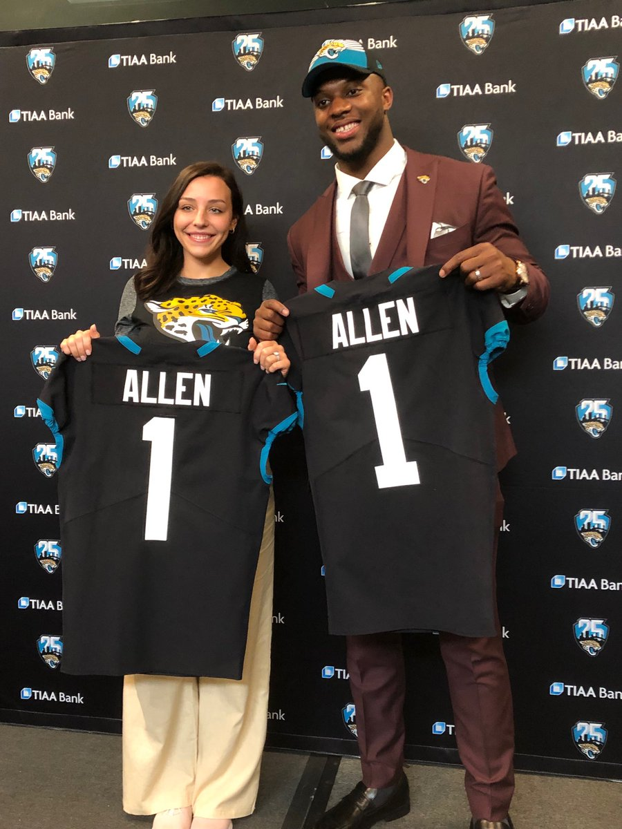 Rick Ballou On Twitter Jaguars First Round Draft Pick Josh Allen And His Wife Kaitlyn