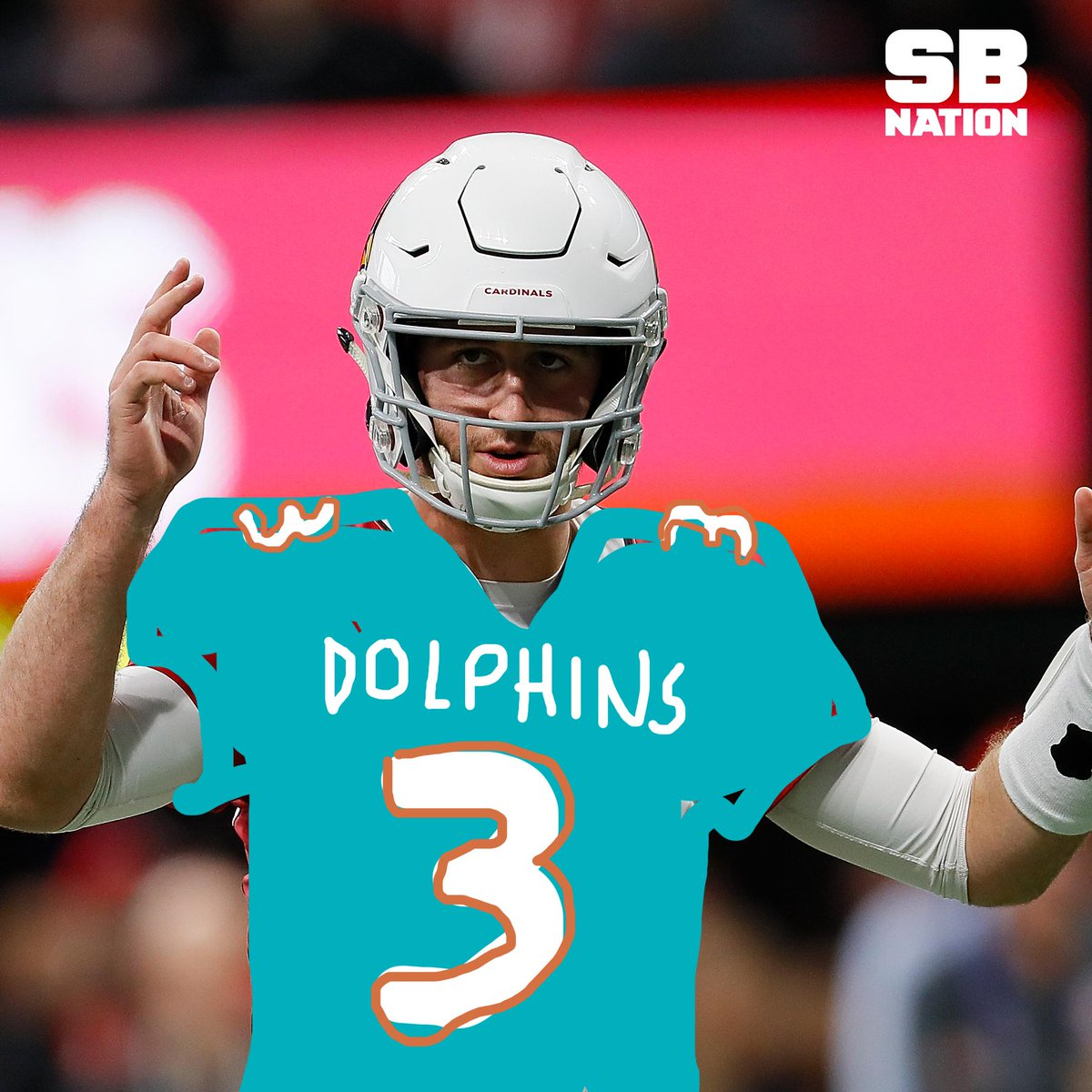 Sb Nation On Twitter Here Is An Official First Look At Josh Rosen As A Miami Dolphin