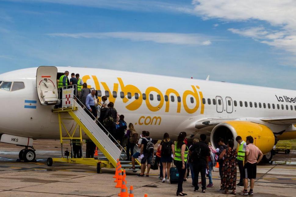 Aerolíneas Argentinas canceló todos sus vuelos del martes próximo