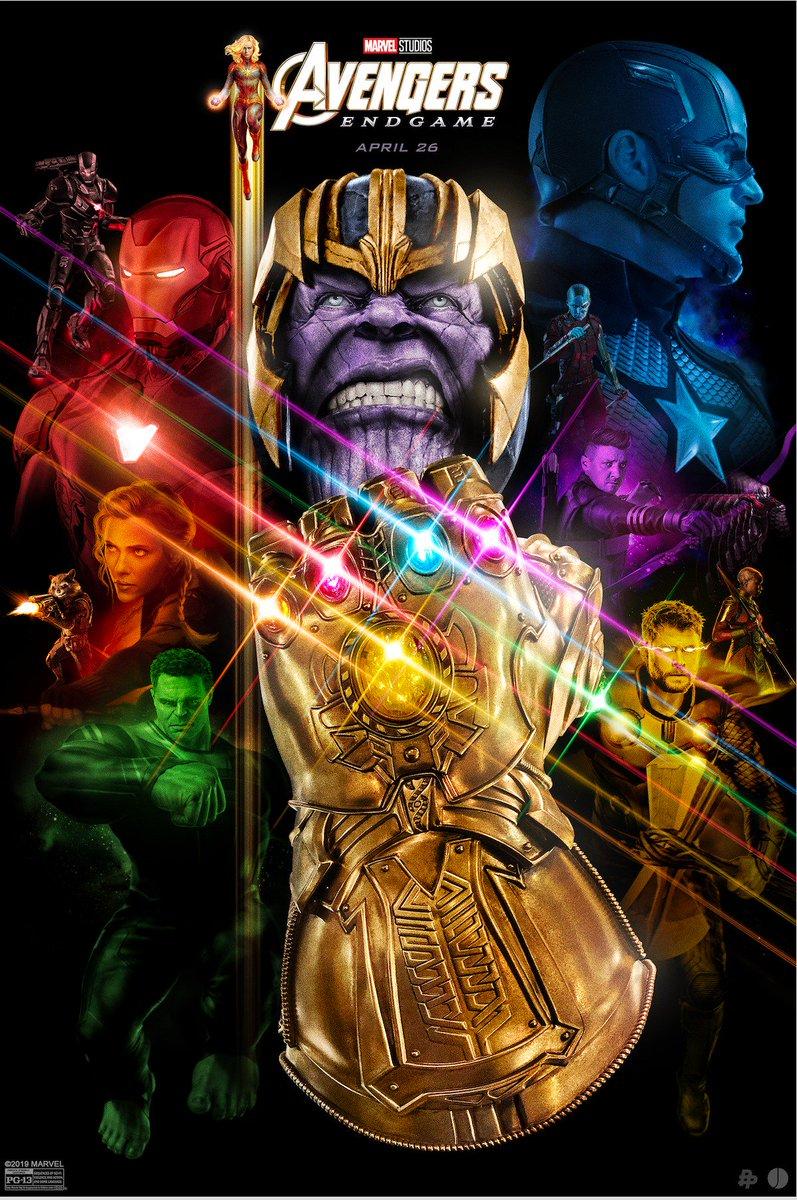 Take a look at the Marvel Studios' #AvengersEndgame-inspired poster from artist @JohnAslarona! #DontSpoilTheEndgame