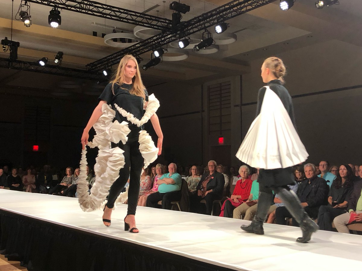 Nc State College Of Design On Twitter Representing The First Year Experience With Wearable Paper Projects Ncstateart2wear
