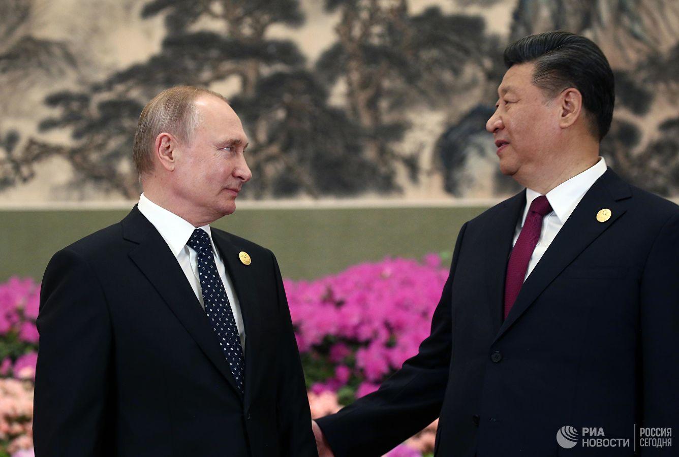 Си Цзиньпин — Путину: Китай заинтересован, чтобы при взаимодействии с Россией мы продолжали оказывать друг другу твердую поддержку