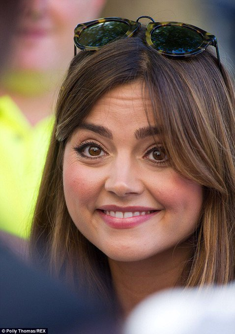 Happy birthday to the (other) love of my life, the absolute angel jenna coleman