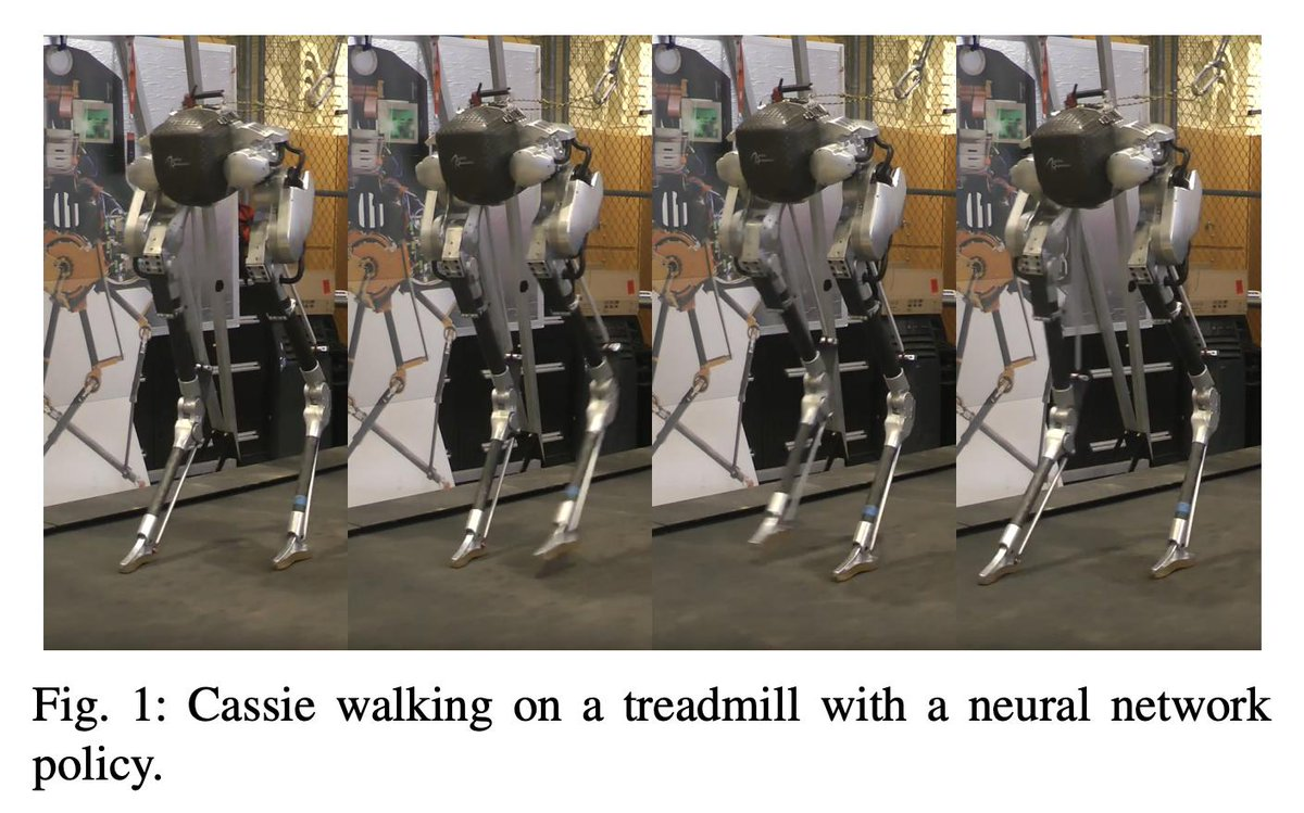 Iterative Reinforcement Learning Based Design of Dynamic Locomotion Skills for Cassie https://arxiv.org/abs/1903.09537
