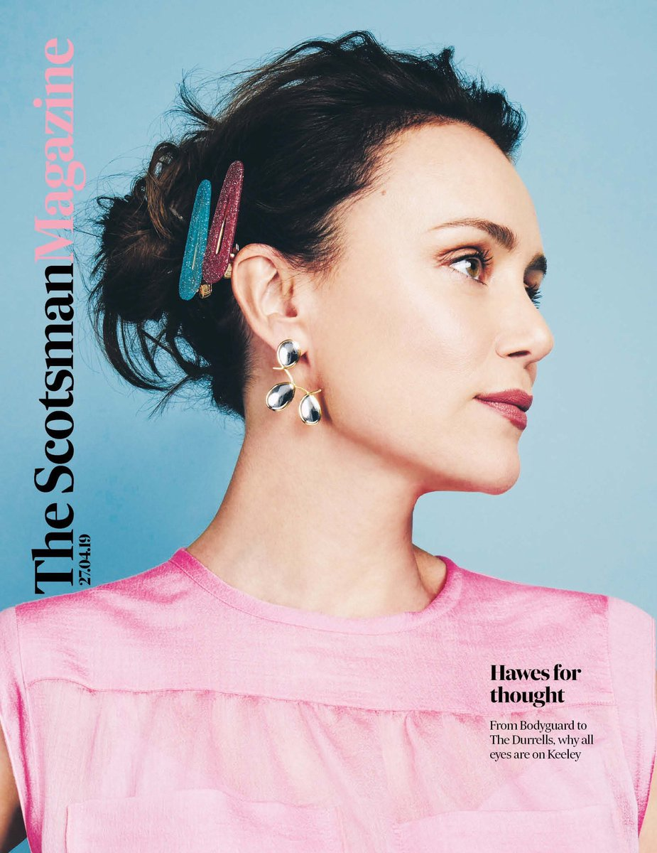 Keeley Hawes for The Scotsman Magazine