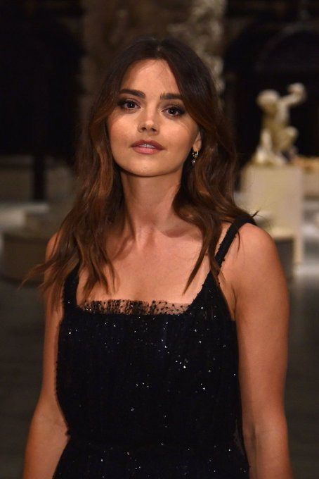 Happy birthday to the amazingly talented and beautiful Jenna Coleman!