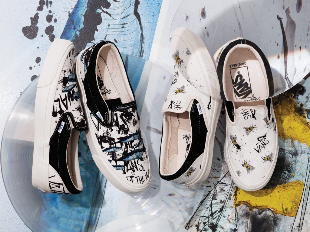 2612b6f9d0 The The Vault by Vans x Ralph Steadman collection is now available online    in-store (Los Angeles