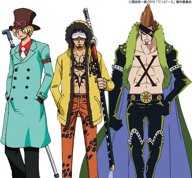 One Piece Stampede : Costumes originaux des participants à