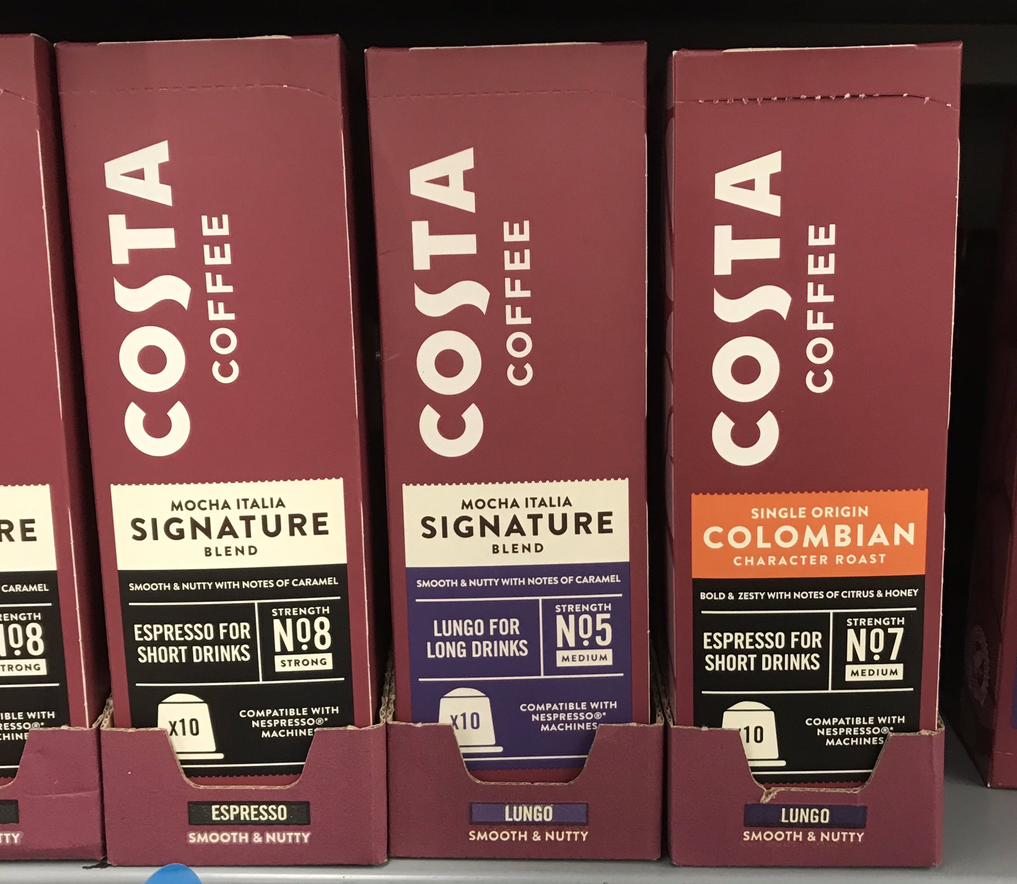 Well This Is New On Twitter Costa Nespresso Pods At
