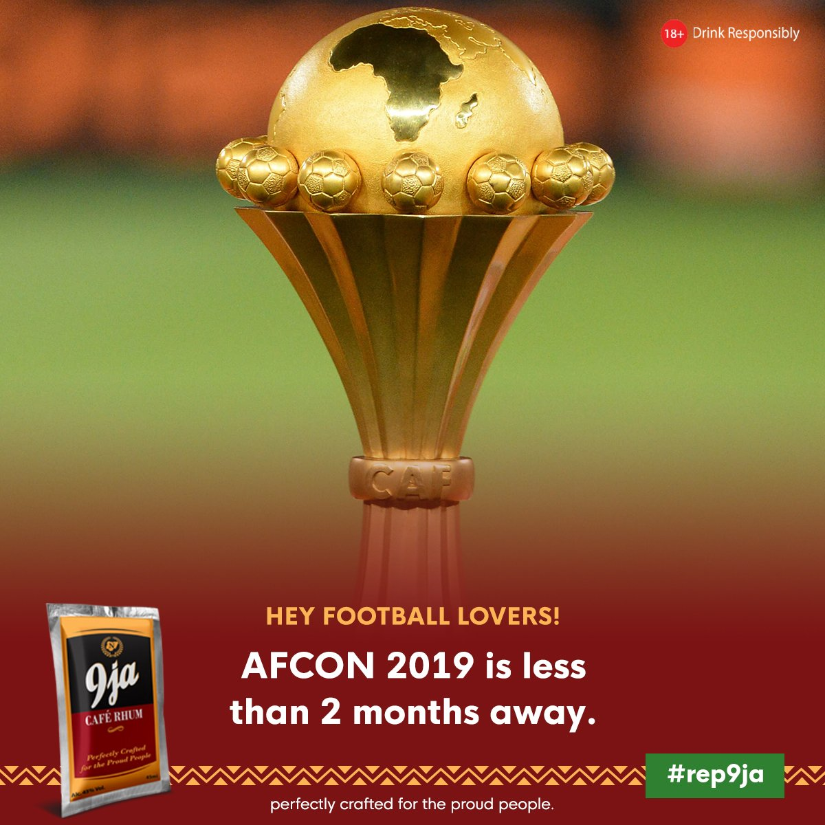 Looking forward to the 2019 Africa Cup of Nations coming up Friday, 7th June - Saturday, 30th June, 2019. Do you think Nigeria will win? #9jaFootball #9jaCafe #9jaCafeRhumpic.twitter.com/qZApCiHd94