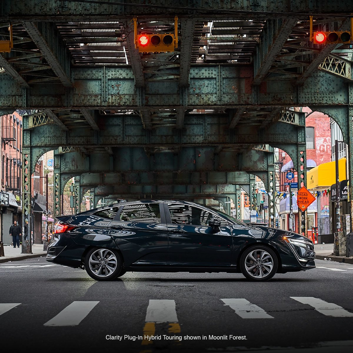 With fewer stops at the gas station, use the extra time to explore your city with the #HondaClarity Plug-In Hybrid.