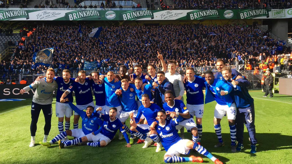 DERBYSIEGER, DERBYSIEGER, HEY, HEY❗️ #S04 #BVBS04 2:4 https://t.co/82yjIsgv9N