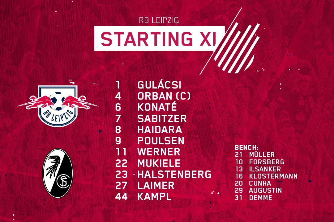 Rb Leipzig English On Twitter Team News Yussufyurary Returns To Our Bundesliga Starting Xi Dierotenbullen Rblscf
